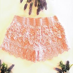 No Boundaries Shorts - Bundle of Three Lace Shorts Size 15-17 Junior XL